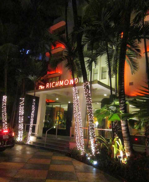 The Richmond at night 1