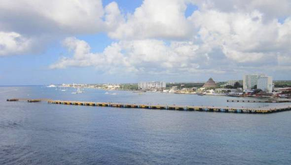 Cozumel from Liberty