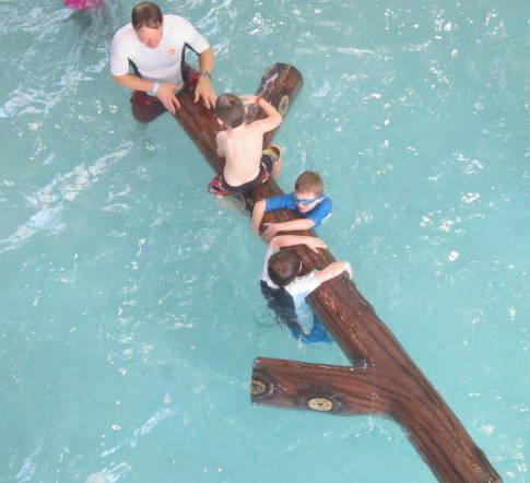Henry swimming