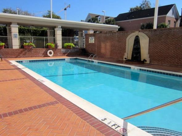 Courtyard pool 1