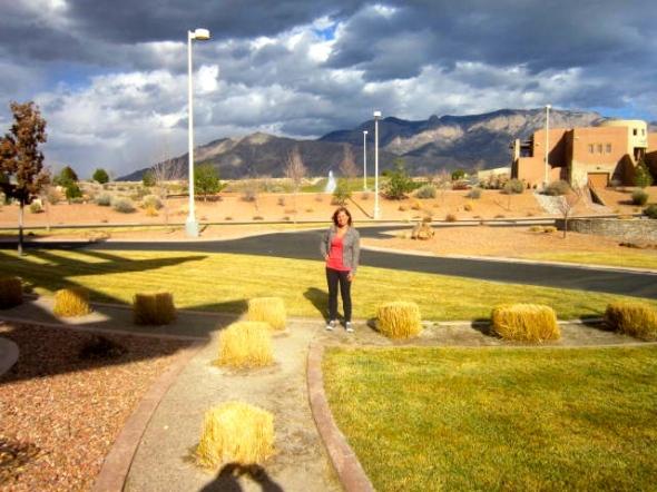 me, outside Sandia 1